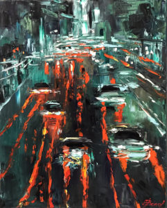 Steady Traffic, Elena Bond