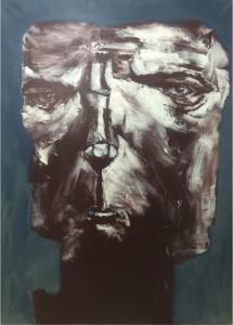 """Massot_Cuba_""""Incertidumbre de la Existencia""""_""""Untitled #69""""_Acrylic on Canvas_51 x 35.5_2015"""